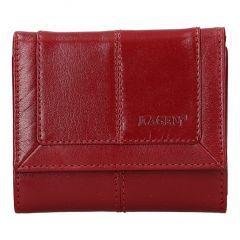 Lagen Dámska peňaženka kožená BLC/4391 Červená/červená