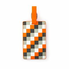 Heys Luggage Tag Orange Check
