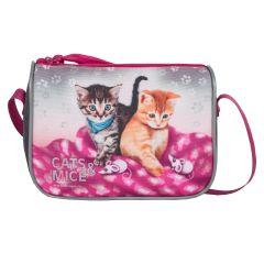 Emipo Dievčenská kabelka Cats & Mice