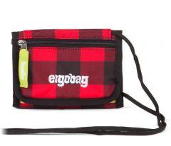 Ergobag Peňaženka červeno-čierna