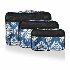 Heys Exotic Packing Cube Set Damask – súprava 3 ks