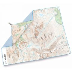 Lifeventure SoftFibre OS Map Towel Ben Nevis