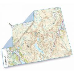 Lifeventure SoftFibre OS Map Towel Snowdon