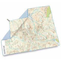 Lifeventure SoftFibre OS Map Towel Scafell pike