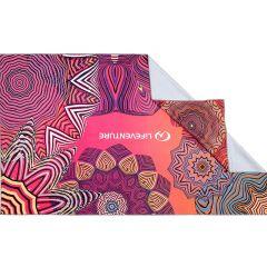 Lifeventure Printed SoftFibre Trek Towel mandala