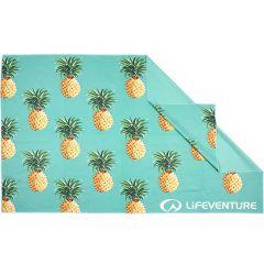 Lifeventure Printed SoftFibre Trek Towel pineapples