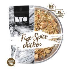LYOfood Kura piatich chutí s ryžou bežná porcia