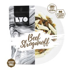LYOfood Hovädzí Stroganoff veľká porcia