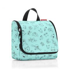 Reisenthel Toiletbag Kids Cats and dogs mint