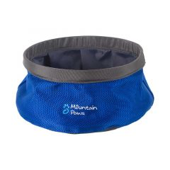 Mountain Paws Dog Water Bowl 170mm blue small