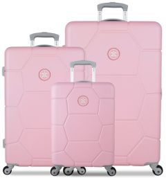 SUITSUIT TR-1231/3 súprava 3 kufrov ABS Caretta Pink Lady