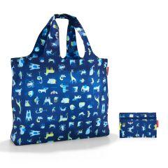 Reisenthel Mini Maxi Beachbag Abc Friends Blue