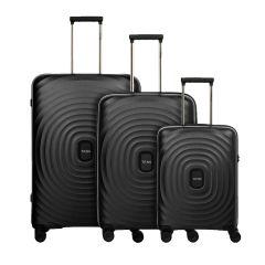 Titan Looping S,M,L Black – sada 3 kufrů
