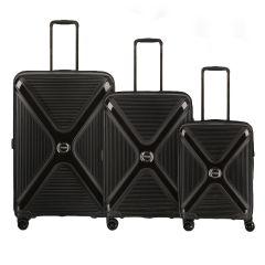 Titan Paradoxx 4w S,M,L Black Uni – súprava 3 kufrov