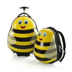 Heys Travel Tots Lightweight Kids Bumble Bee – súprava batoha a kufra