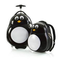 Heys Travel Tots Lightweight Kids Penguin – súprava batoha a kufra