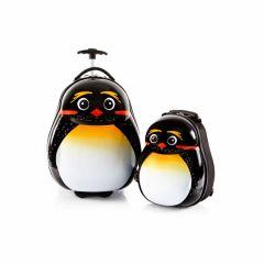 Heys Travel Tots Lightweight Kids Emperor Penguin – súprava batoha a kufra