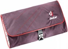 Deuter Wash Bag II Aubergine-fire