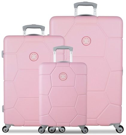 37b44bb9be24a SUITSUIT TR-1231/3 súprava 3 kufrov ABS Caretta Pink Lady | Bagalio.sk