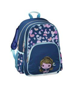 Hama Školská taška pre prváčikov Dievčatko