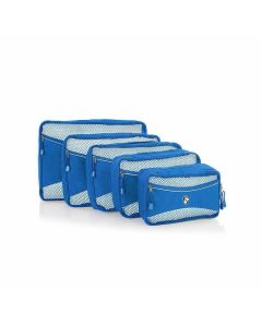 Heys Eco Packing Cube 5pc Set II Blue