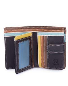 Mywalit Medium 10 C/C Wallet w/Zip Purse Mocha