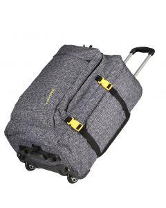 Travelite Basics Trolley Backpack Anthracite print