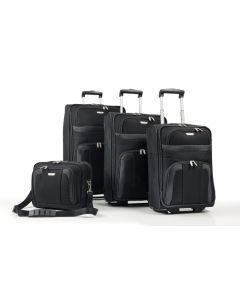 Travelite Orlando S,M,L – súprava 3 kufrov + Boarding Bag