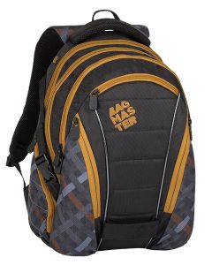 Bagmaster Bag 8 E Black/grey/brown