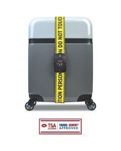 BG Berlin Luggage Belt TSA Caution