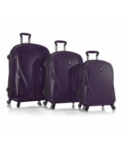 Heys xcase 2G S,M,L Ultra Violet – sada 3 kufrov