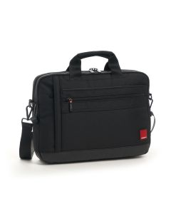 "Hedgren Cells Slim Briefcase 15"" Black"
