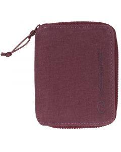 Lifeventure RFiD Bi-Fold Wallet Aubergine