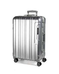 March Cosmopolitan Platinum S,M,L - súprava 3 kufrov Silver brushed