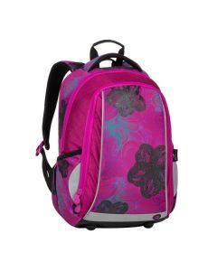 školní batoh Bagmaster Mark 20 A Pink/blue/turquoise