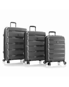 Heys Metallix Gunmetal S,M,L – súprava 3 kufrov
