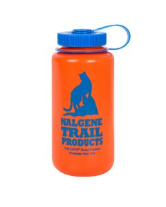 Nalgene Wide Mouth 1 l Orange/ Cat Logo