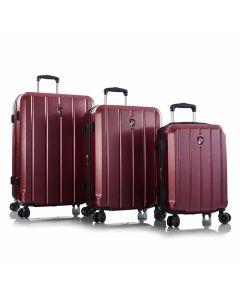 Heys Para-Lite S,M,L Red – súprava 3 kufrov