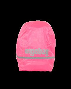 Ergobag Pršiplášť na batoh fluorescenčný ružový