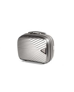 March Gotthard Beauty Case Silver Metallic