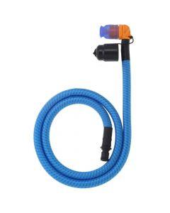 Source Helix weave covered tube kit Light Blue