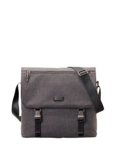 Stratic Lead Shoulder bag wide Anthracite