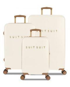 SUITSUIT TR-7104/3 Fab Seventies Antique White