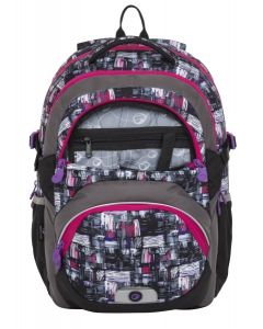 Bagmaster Theory 8 A Black/grey/pink