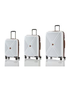 Titan Paradoxx 4w S,M,L White – súprava 3 kufrov