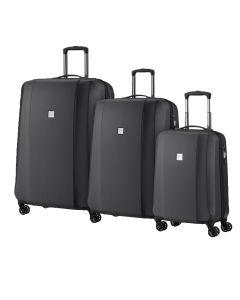 Titan Xenon Deluxe S,M,L Graphite – súprava 3 kufrov