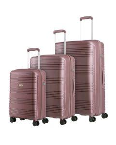 Travelite Zenit S,M,L Dark Rose - sada 3 kufrů