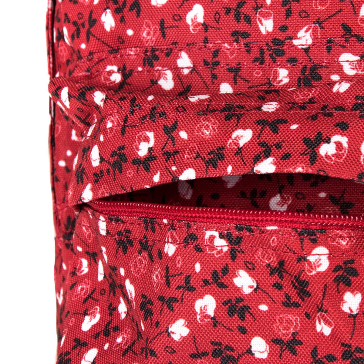 Dakine 365 Mini 12L Crimson Rose Ak hľadáte štýlový voľnočasový batoh, do ktorého sa zmestí pár každodenných nevyhnutností a nebude vás zbytočne ťažiť na chrbte, je pre vás 365 Mini 12L ten pravý.  oddiel na tablet alebo iPad predné vrecko na drobnosti nastaviteľné ramenné popruhy spevnené dno vodoodpudivý povrch
