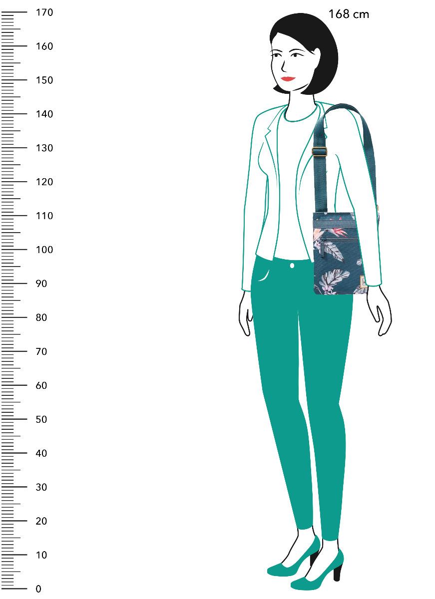 Dakine Jive Waimea Kabelka s délkově nastavitelným popruhem, kterou lze nosit buď klasicky, nebo do kříže přes rameno.