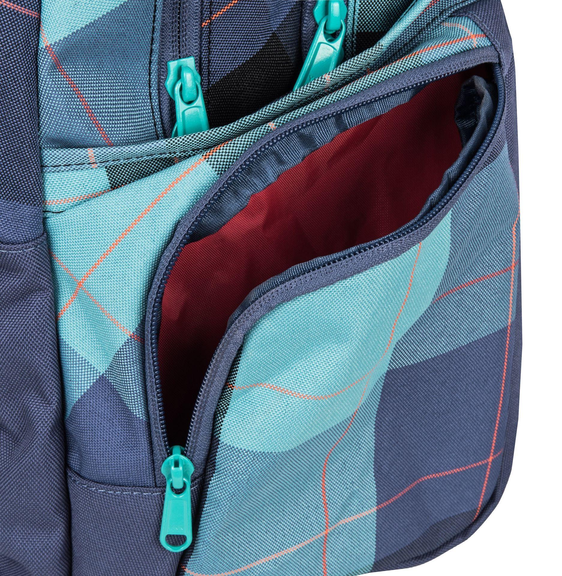 Dakine Otis 30L Aquamarine Pre všetky dievčatá, čo so sebou nosia veľa vecí do školy aj vo voľnom čase, je ideálny Dakine Otis.  - 2 hlavné priestory - vrecko na notebook až do 15